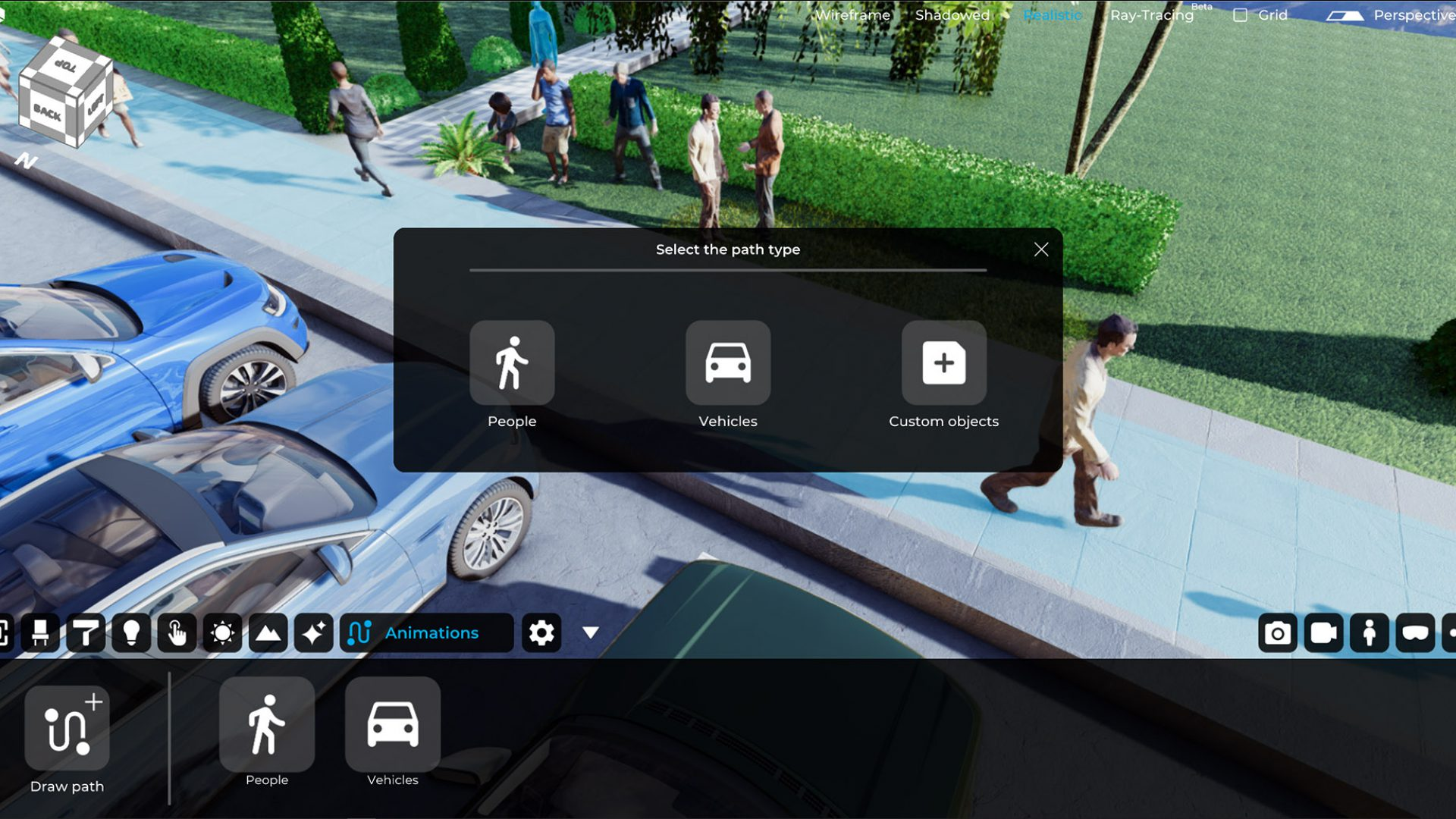 paths_people_and_cars_3D_eyecad_VR